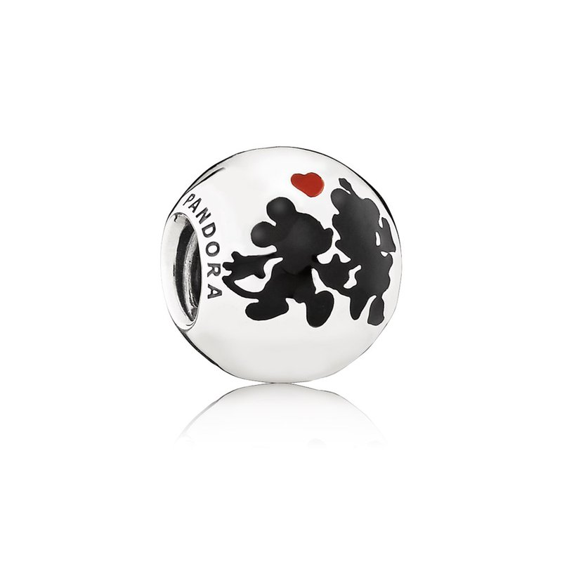 PANDORA Disney, Minnie Mickey Forever Charm, Mixed Enamel