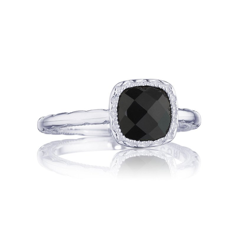 Tacori Fashion Petite Cushion Gem Ring with Black Onyx