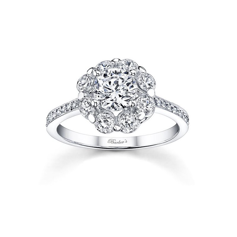 Barkev's Flower Engagement Ring
