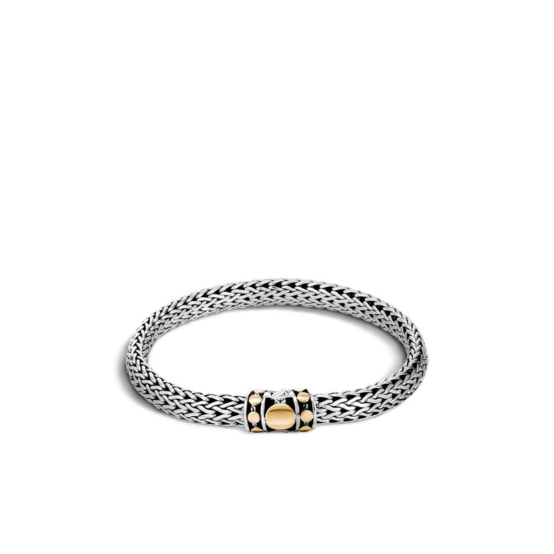 JOHN HARDY Dot 6.5MM Bracelet in Silver and 18K Gold