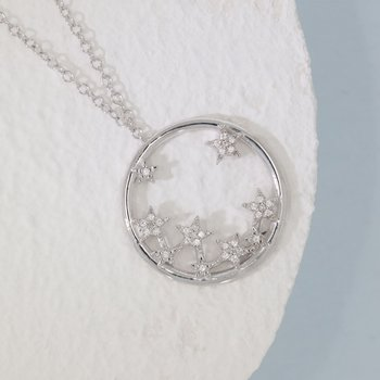 A Star Is Born Sterling Silver Necklace