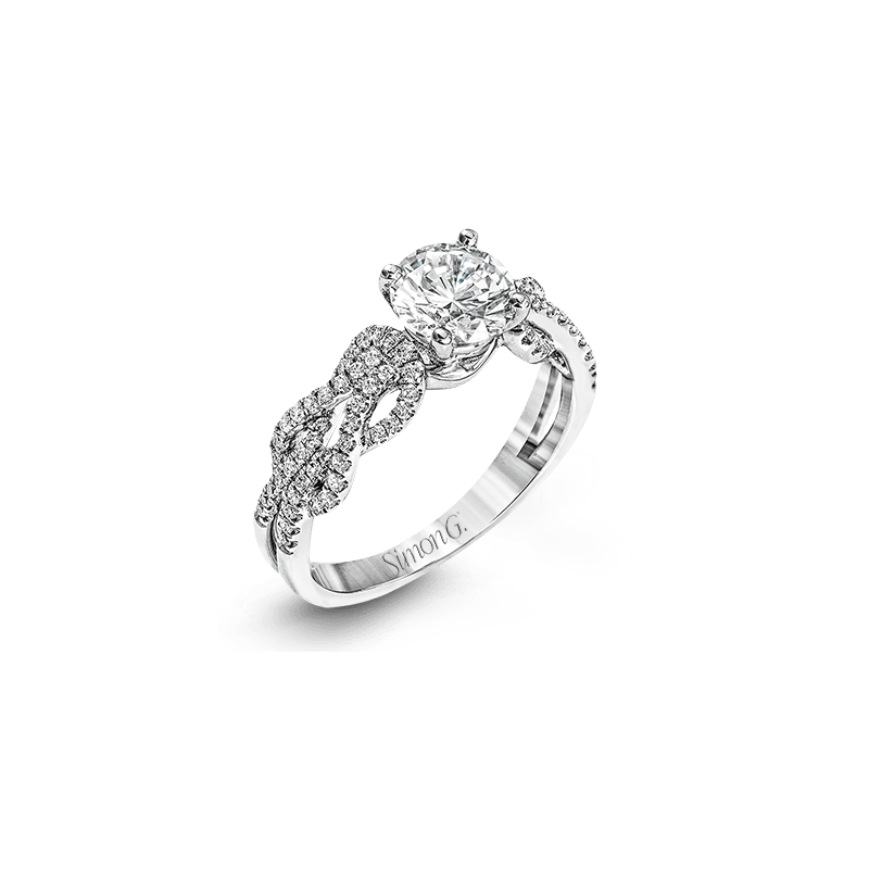 Simon G MR2721 ENGAGEMENT RING