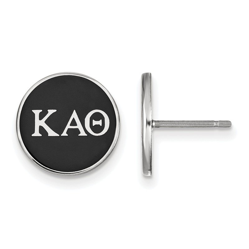 Greek Life Sterling Silver Kappa Alpha Theta Greek Life Earrings