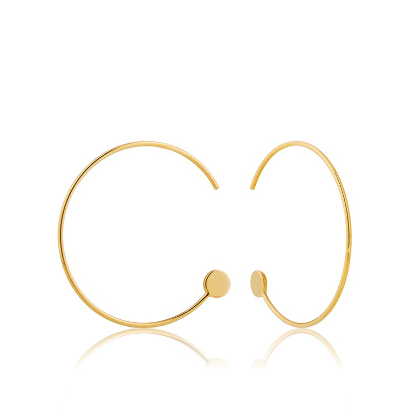 Ania Haie Open Hoop Earrings
