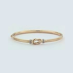 Roberto Coin 18Kt Gold Knot Bangle