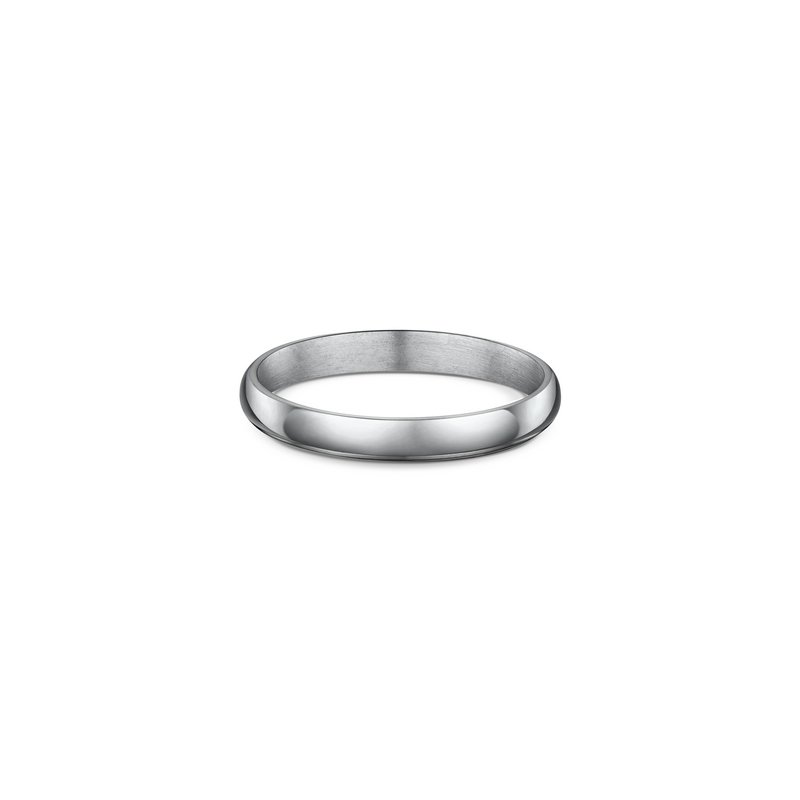 Dora 3mm High Dome Wedding Band