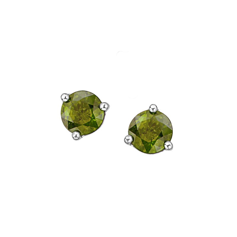 Diamond Days Peridot Earrings