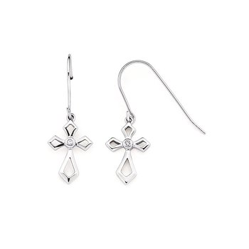 Earrings Rd V 0.04