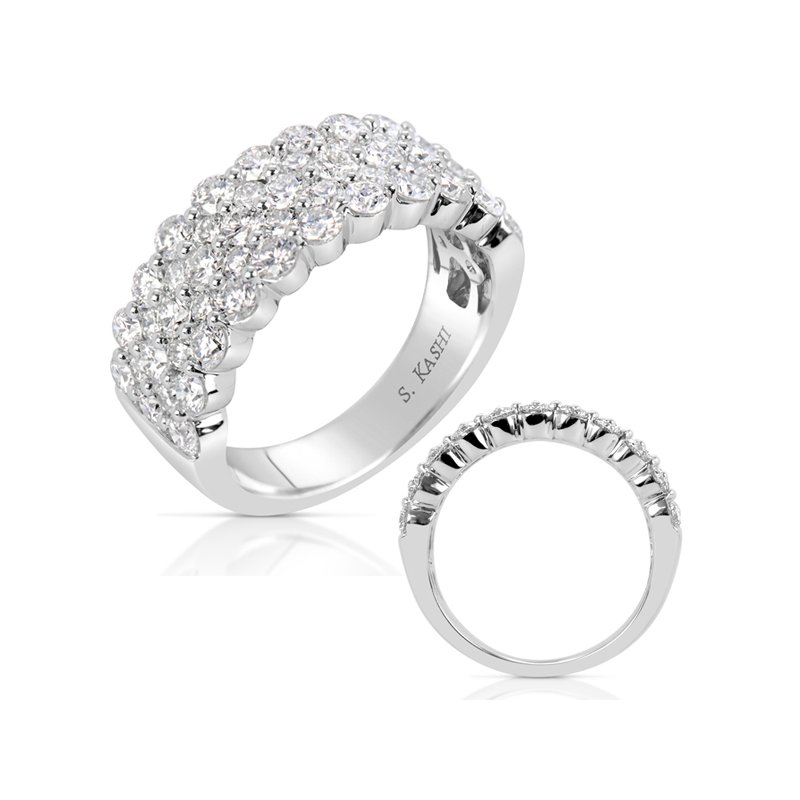 Briana Platinum Diamond Band
