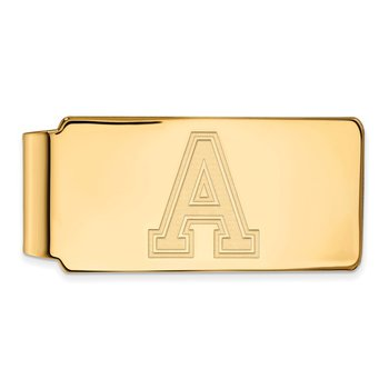 Gold-Plated Sterling Silver U.S. Military Academy NCAA Money Clip