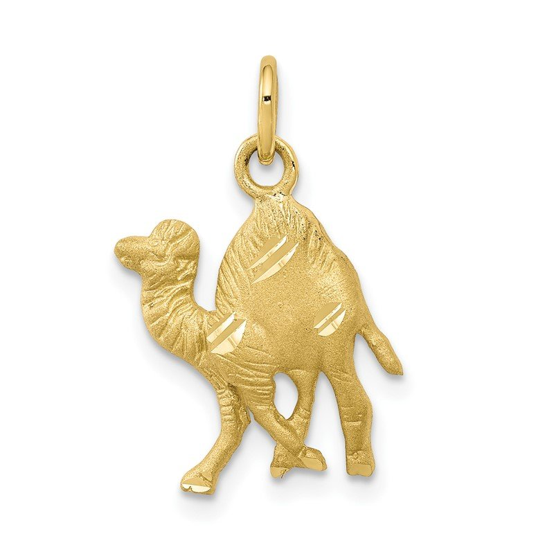 Quality Gold 10k Camel Charm
