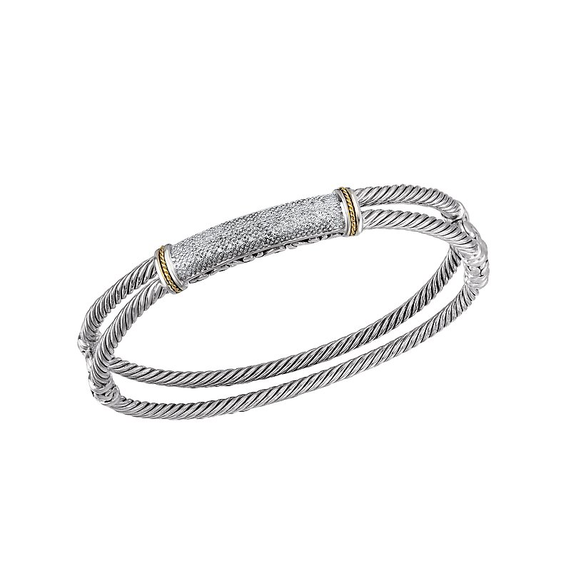 Eleganza Ladies Fashion Diamond Bangle