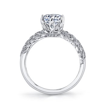 MARS 26062 Diamond Engagement Ring, 0.23 ct tw