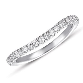White Gold Matching Band for en7284