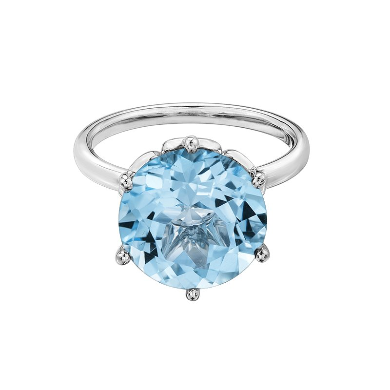 D of D Signature Sky Blue Topaz Ladies Ring