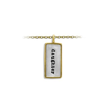 25mm X 13mm Rectangular Charm with Frame