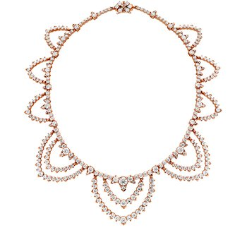 40.95 ctw. Aerial Diamond Collar