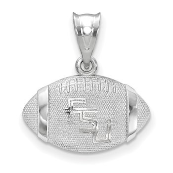 Sterling Silver Florida State University NCAA Pendant