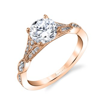 Vintage Engagement Ring - Renee