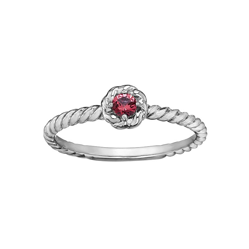 Lasting Treasures™ Ruby Ladies Solitaire