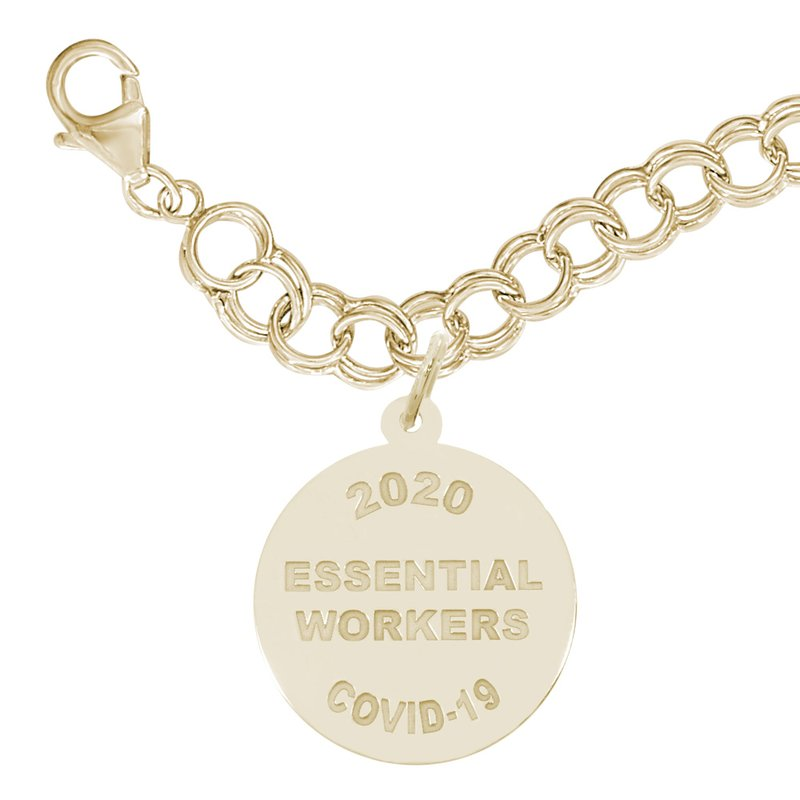 Rembrandt Charms Covid-19 Essential Workers Bracelet Set