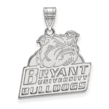 Sterling Silver Bryant University NCAA Pendant