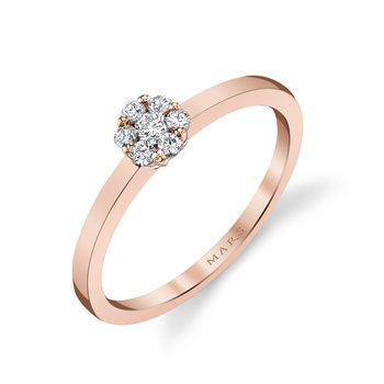 MARS 26868 Fashion Ring, 0.16 Ctw.