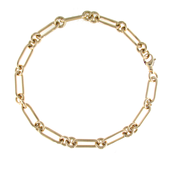 18KT GOLD ORO CLASSIC NECKLACE