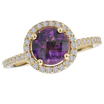 Diamond and Gemstone Ring