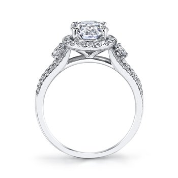 25383 Diamond Engagement Ring 0.67 ct tw