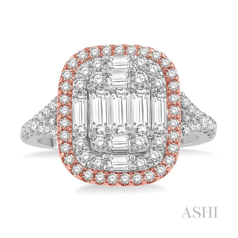 Gemstone Collection fusion diamond ring