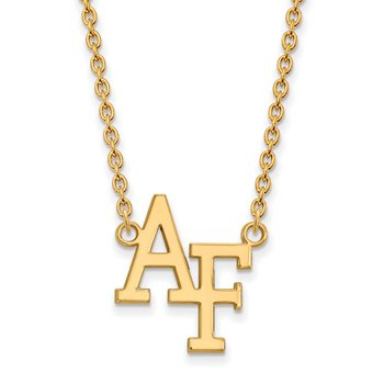Gold United States Air Force Academy NCAA Necklace