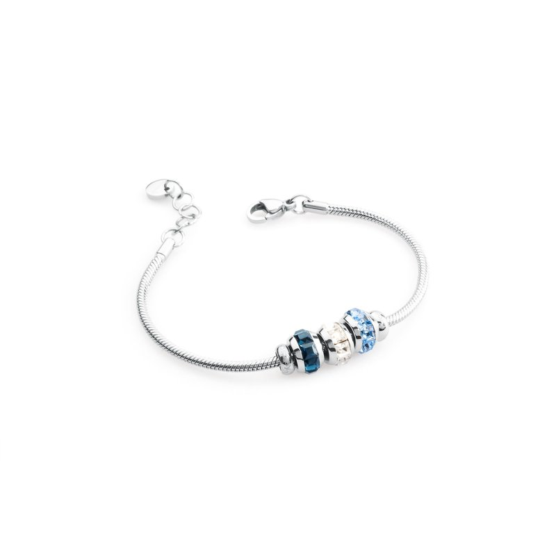 Brosway 316L stainless steel, light sapphire, blue montana and white Swarovski® Elements.