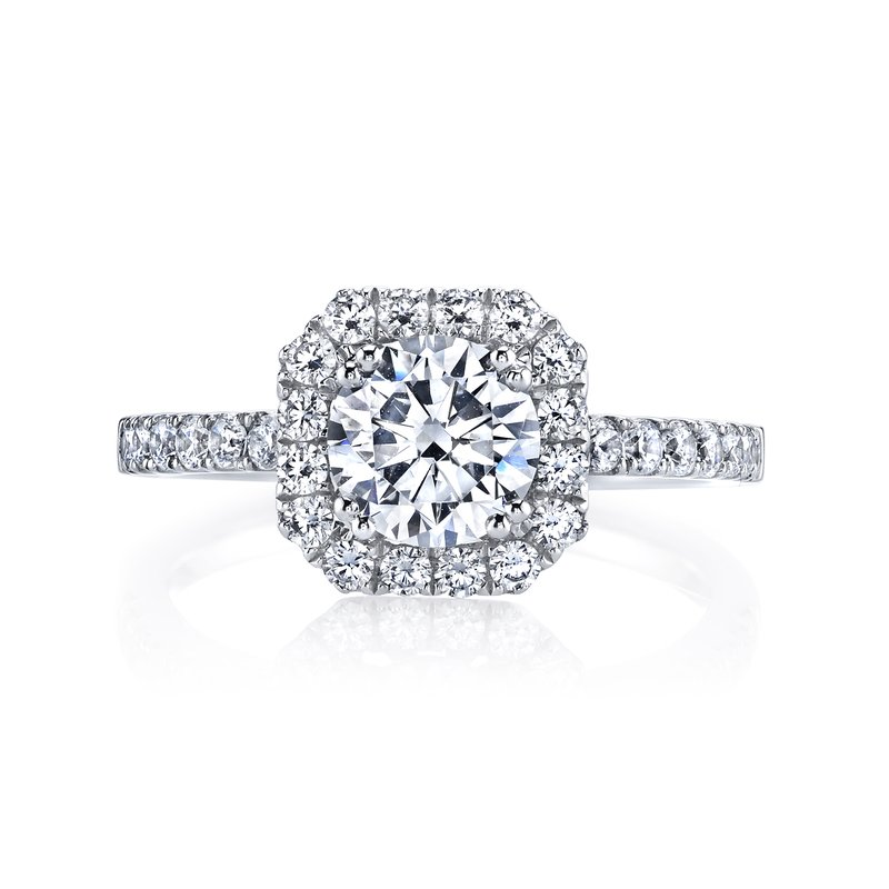 MARS Jewelry MARS 25569  Diamond Engagement Ring 0.57 Ctw.
