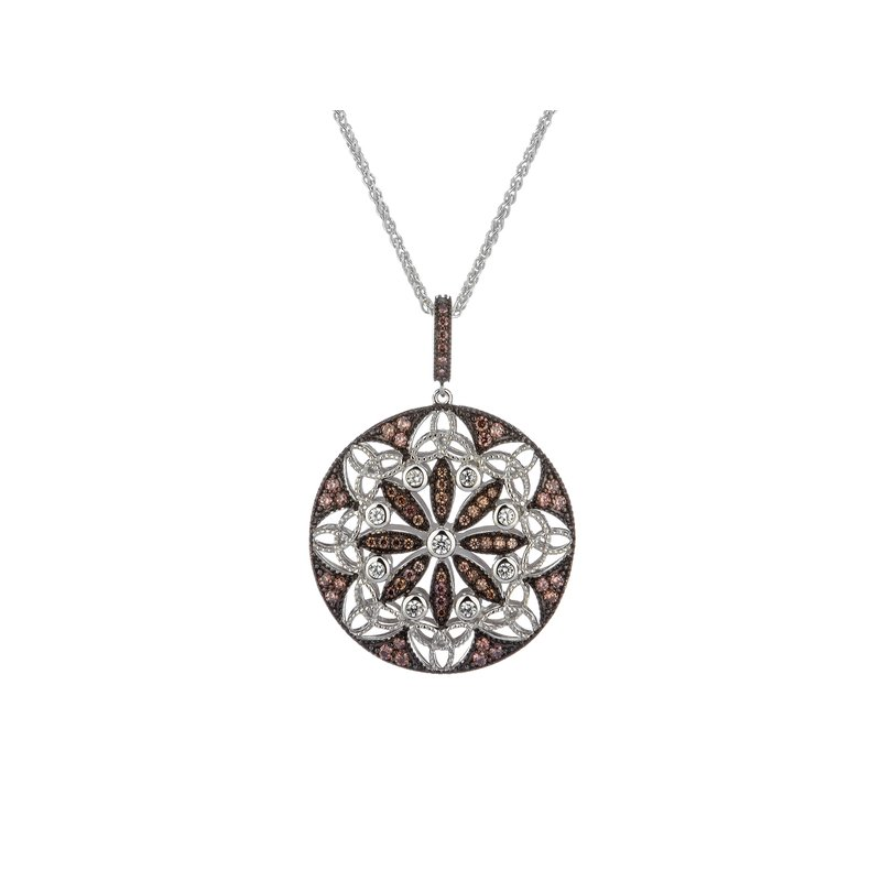 Keith Jack Night & Day Round Pendant
