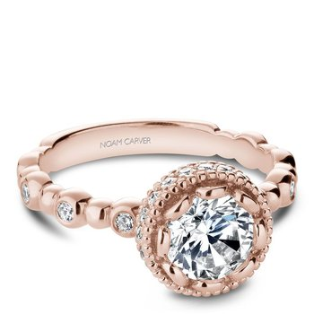 Noam Carver Modern Engagement Ring R014-01RA