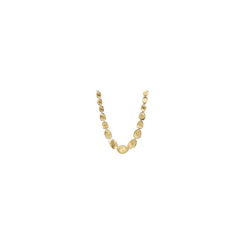 Marco Bicego Lunaria Gold Medium Graduated Collar Necklace