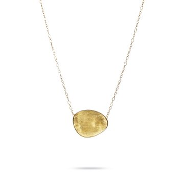 Lunaria Gold Medium Graduated Collar Necklace