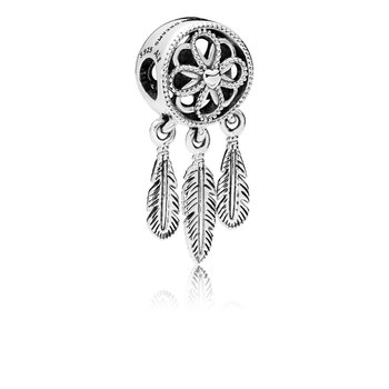 Spiritual Dreamcatcher Dangle Charm
