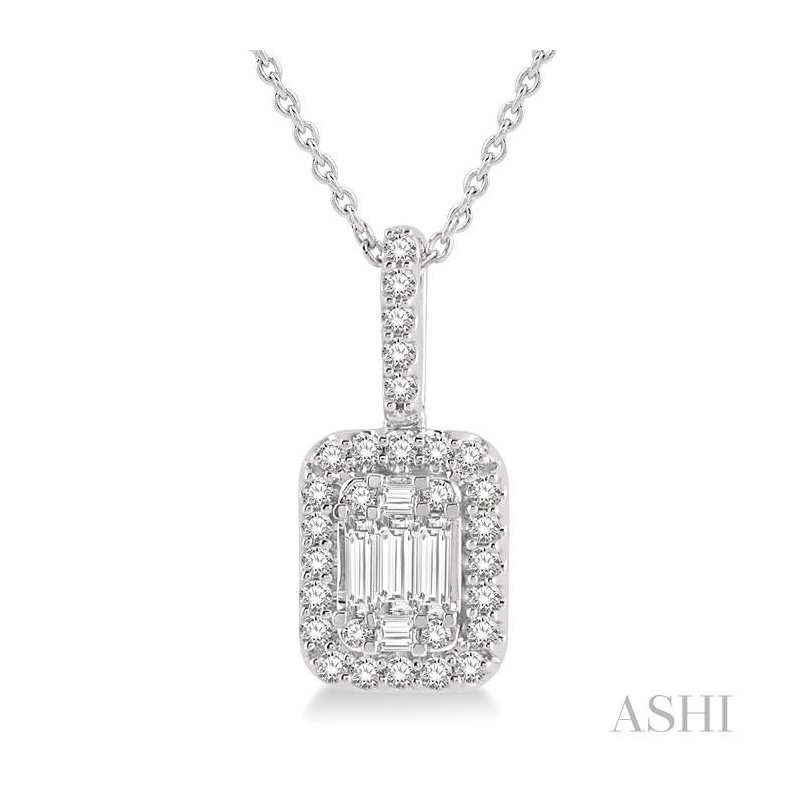 Crocker's Collection fusion diamonds pendant