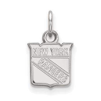 Sterling Silver New York Rangers NHL Pendant