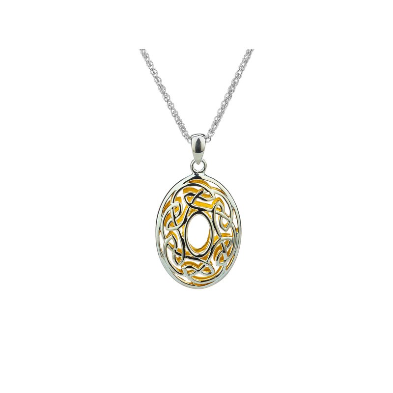 Keith Jack Window to the Soul Oval Pendant
