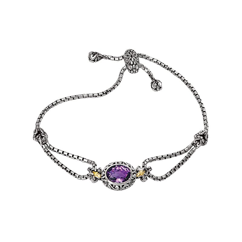 Eleganza Ladies Fashion Gemstone Bracelet