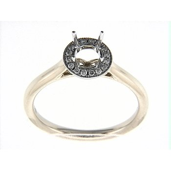 14K WY RING 16RD 0.11CT