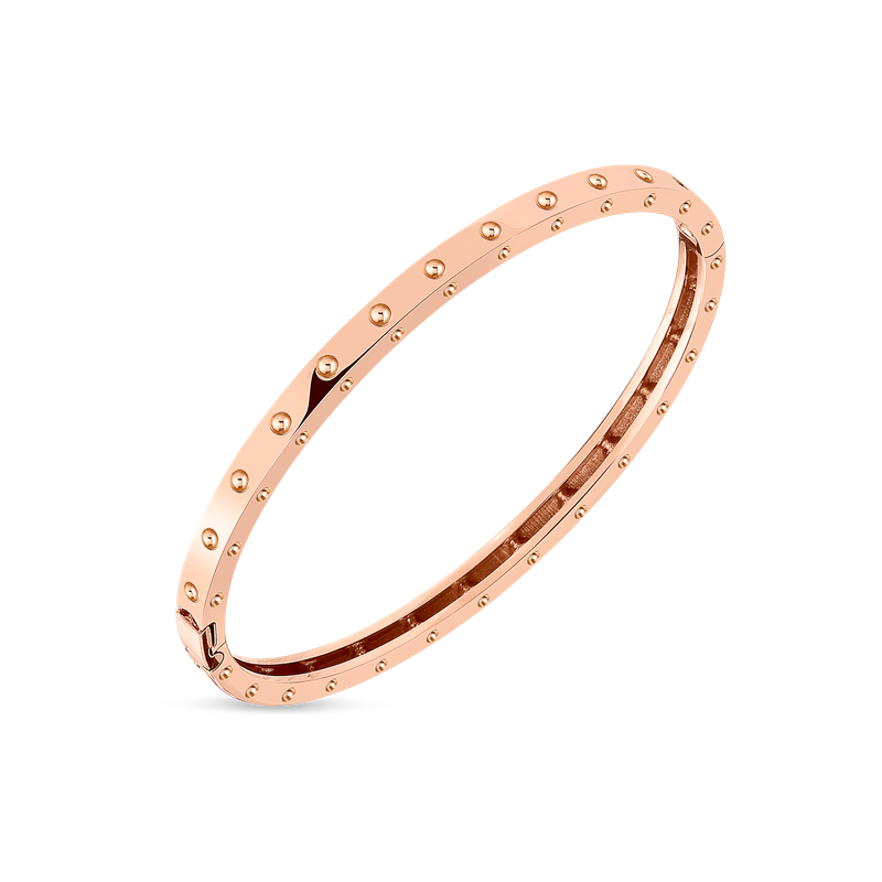 Roberto Coin  #5632 Of Pois Moi Oval Bangle