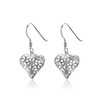 Heart-shape earrings