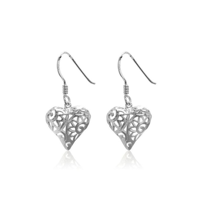 LARUS Jewelry Heart-shape earrings