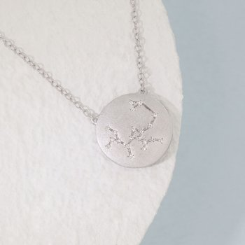 Sagittarius Sterling Silver Zodiac Necklace