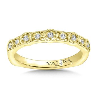 Stackable Wedding Band in 14K Yellow Gold (.11 ct. tw.)