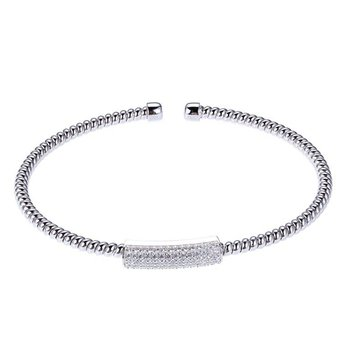 Flex Collection Bangle - White